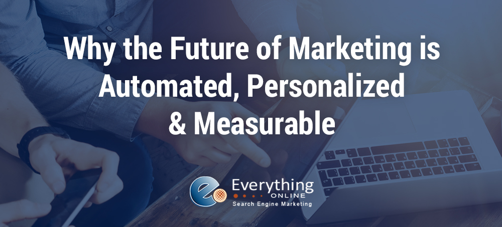Why the Future of Marketing is Automated, Personalized, and Measurable
